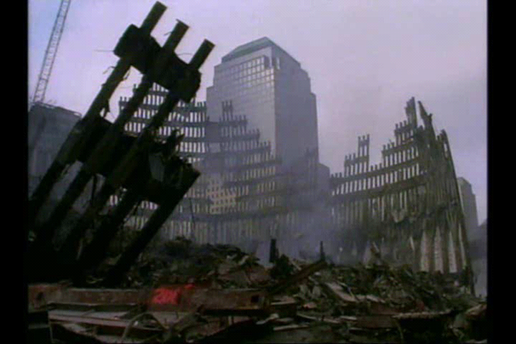 Twin Tower Rubble