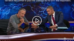 jon stewart James Zadroga 9 11 Health and Compensation Act play 300
