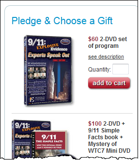 "This is a direct and powerful way to thank CPT12's management for showing ""9/11: Explosive Evidence - Experts Speak Out"""