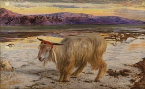 William Holman Hunt The Scapegoat 300