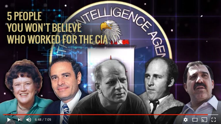 5 People You Wont Believe Worked For CIA 768 v2