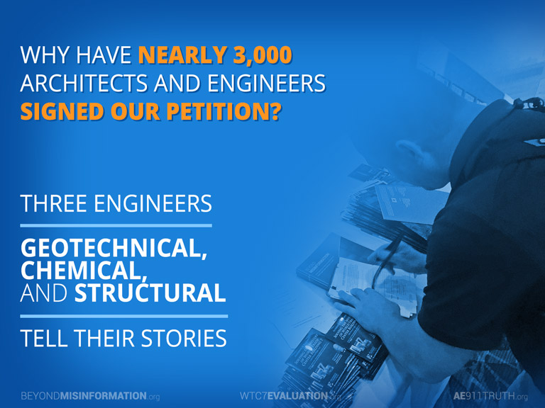 Why Have Nearly  Architects And Engineers Signed Our Petition