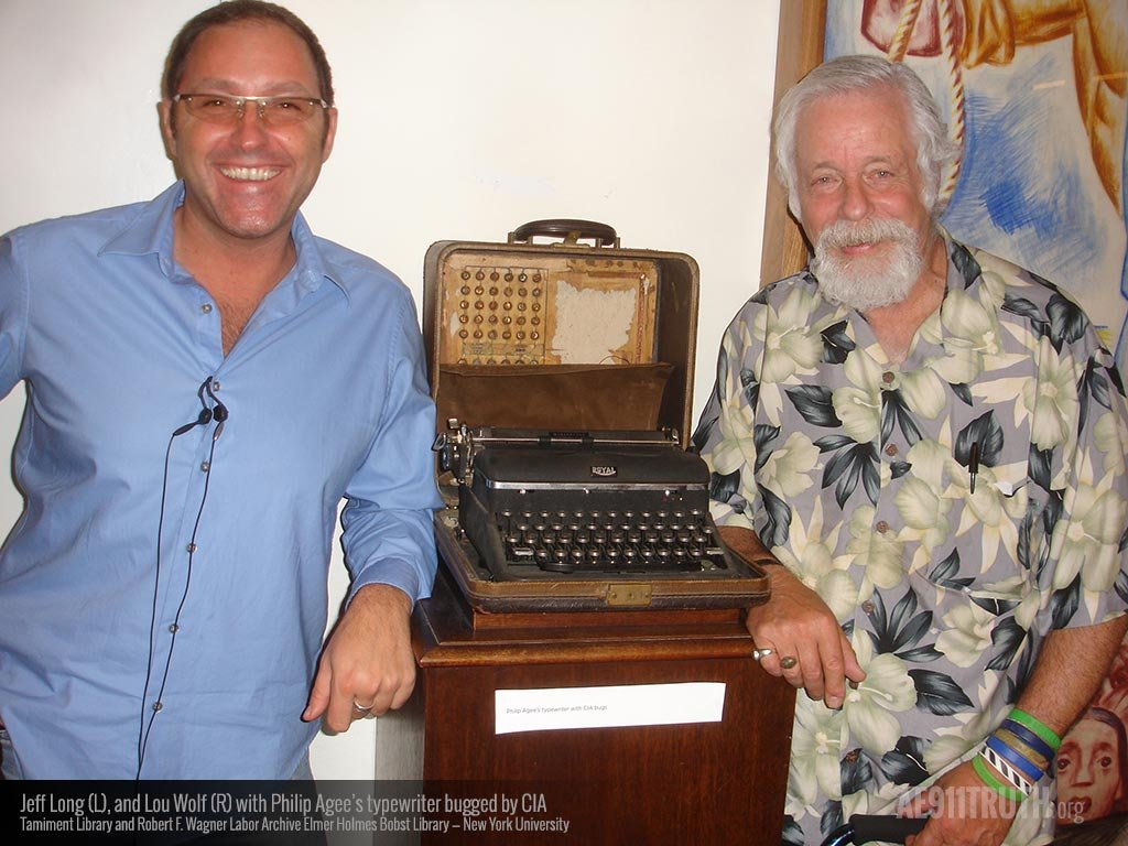 Jeff Lou and Phil Agees bugged typewriter 1024 v6