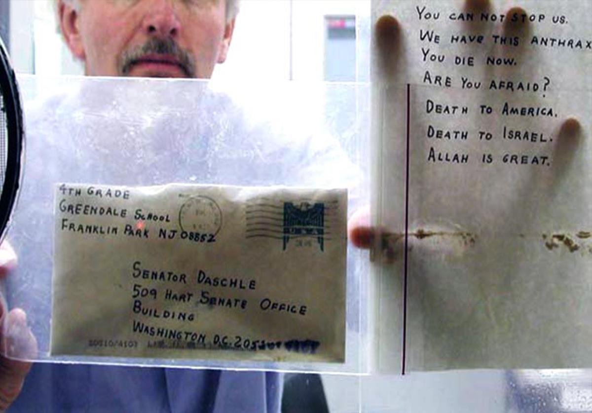 anthrax letter FBI