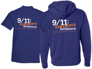AE911Truth T-Shirt, Sweatshirt back