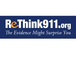 ReThink911 Bumper Sticker (3 x 10)