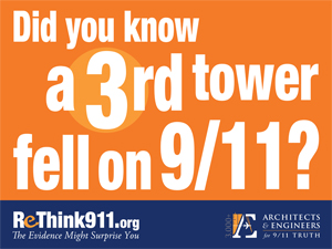 ReThink911 Lawn Sign Vers. 1