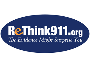 ReThink911 Oval Sticker 4in