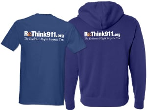 ReThink911 T-Shirt / Sweatshirt back
