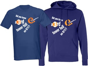 ReThink911T-Shirt  / Sweatshirt front