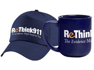 ReThink911Baseball Cap / Coffee Mug / Multi-purpose