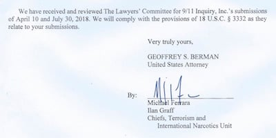 Breakthrough: U S  Attorney Agrees to Present Evidence of